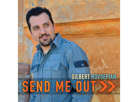 Persian Christian Music by Gilbert Hovsepian, Oh Lord Send Me Out Music CD, Iranian Christian Worship Music by Gilbert Hovsepian